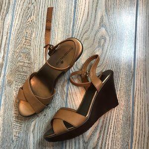 💙Montego Bay NWOT wedge sandals